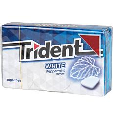Τσίχλες TRIDENT White μέντα