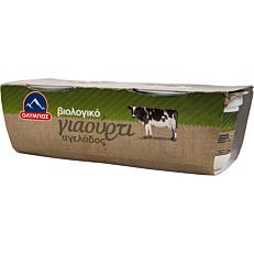 Γιαούρτι ΟΛΥΜΠΟΣ αγελάδος βιολογικό (2x200g)