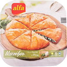 Πίτα ALFA Μετσόβου με σπανάκι κατεψυγμένη (850g)