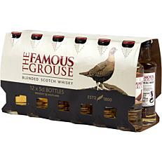 Ουίσκι THE FAMOUS GROUSE (12x50ml)