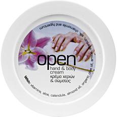 Κρέμα χεριών OPEN (200ml)