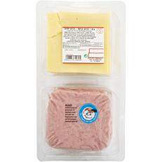 Πάριζα και τυρί edam ΤΥΠΟΠΟΙΗΤΙΚΗ σε φέτες 20+20 (1kg)