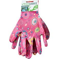 Γάντια κήπου χρωματιστά με σχέδια 9290160
