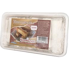 Μπουρέκι ΧΑΤΖΗΛΑΜΠΡΟΥ με τυρί, ζαμπόν και μπέικον κατεψυγμένο (2,5kg)