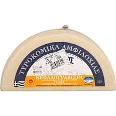 Τυρί ΠΕΤΡΑΤΟΣ κεφαλογραβιέρα Αμφιλοχίας (~5kg)
