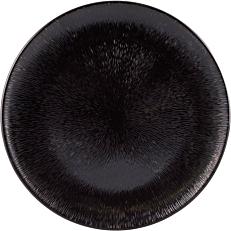 Πιάτο μελαμίνης μαύρο 40cm