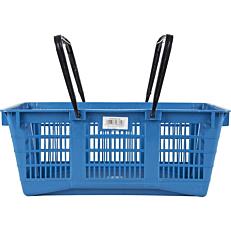 Καλάθι για super market μπλε (25,5lt)