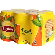 Αφέψημα LIPTON ροδάκινο (6x330ml)