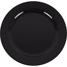 Πιάτα PS πλαστικά μαύρα 19cm (20τεμ.)
