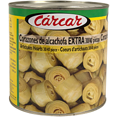Κονσέρβα CARCAR σπαράγγια καρδίες ολόκληρες (2,5kg)