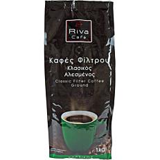 Καφές RIVA CAFÉ regular φίλτρου (1kg)
