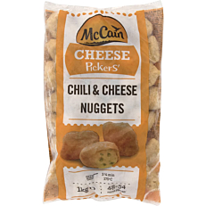 Chilli Pepper & Cheese Nuggets MCCAIN κατεψυγμένες (1kg)