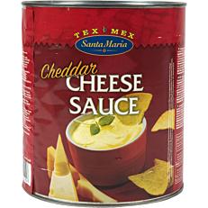 Cheddar SANTA MARIA cheese sauce (3kg)