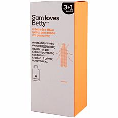 Σκοροκτόνο SAM LOVES BETTY πλακέτες (4τεμ.)