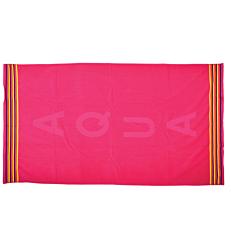 Πετσέτα θαλάσσης ζακάρ aqua-φούξια 85x150cm
