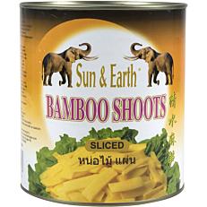 Μπαμπού SUN N EARTH σε φέτες (2,95kg)