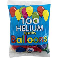 Μπαλόνια σε διάφορα χρώματα 26cm (100τεμ.)