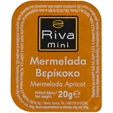 Μερμελάδα RIVA MINI βερίκοκο (100x20g)