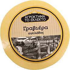 Τυρί ΤΟ ΕΚΛΕΚΤΟ γραβιέρα αγελάδος Αυστρίας (~10kg)