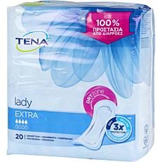 Σερβιέτες TENA Lady Extra για την ακράτεια (20τεμ.)