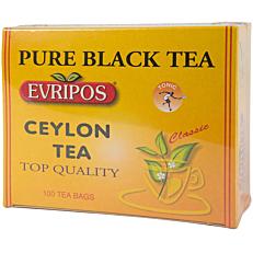 Τσάι EVRIPOS Κεϋλάνης (100x1,5g)