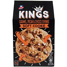 Μπισκότα ΑΛΛΑΤΙΝΗ KINGS SOFT triple chocolate chunks (180g)