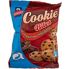 Μπισκότα ΑΛΛΑΤΙΝΗ Cookie Bites με σοκολάτα (70g)