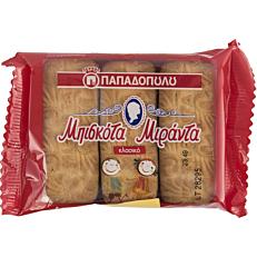 Μπισκότα ΠΑΠΑΔΟΠΟΥΛΟΥ Μιράντα fresh pack (6x180g)
