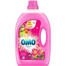 Απορρυπαντικό OMO τροπικά λουλούδια και ylang ylang πλυντηρίου ρούχων, υγρό (45μεζ.)