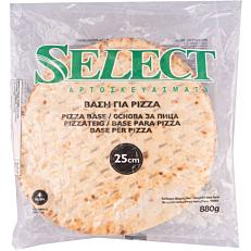 Βάση SELECT για πίτσα, κατεψυγμένη 25cm (4τεμ.)