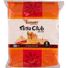Πίτα ELVIART club κατεψυγμένη (6τεμ.)