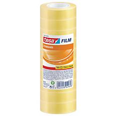 Κολλητική ταινία TESA Standard Film σετ 10 ρολά 33x15