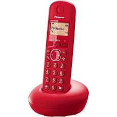 Τηλέφωνο PANASONIC TGB210 ασύρματο, κόκκινο
