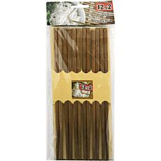 Chopsticks bamboo 24cm (12τεμ.)