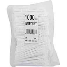 Αναδευτήρες PS λευκοί 11cm (1000τεμ.)