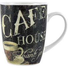 Κούπα Coffee πορσελάνης σε 4 σχέδια 30cl