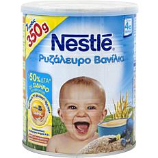 Παιδική κρέμα NESTLE βανίλια με ρυζάλευρο