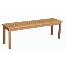 Πάγκος ξύλινος 3θέσιος 146x34x45cm