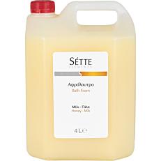 Αφρόλουτρο SETTE ELEMENTS Unisex μέλι - γάλα (4lt)