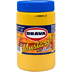Μουστάρδα BRAVA απαλή (500g)