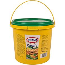 Σάλτσα BRAVA ceasar's (4,2lt)