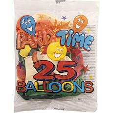 Μπαλόνια σε διάφορα χρώματα 26cm (25τεμ.)
