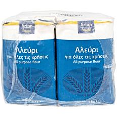 Αλεύρι ARION FOOD για όλες τις χρήσεις (1kg)