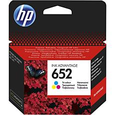 Μελάνι εκτυπωτή HP Νο.652 tri-color
