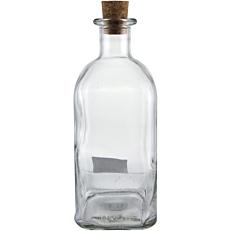 Μπουκάλι γυάλινο με φελλό 1lt
