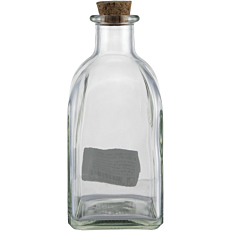Μπουκάλι γυάλινο με φελλό 250ml