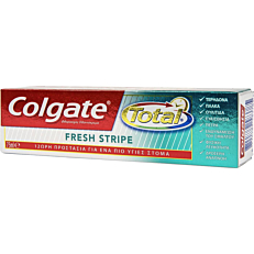 Οδοντόκρεμα COLGATE total fresh stripe (75ml)