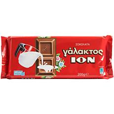 Σοκολάτα ΙΟΝ γάλακτος (200g)