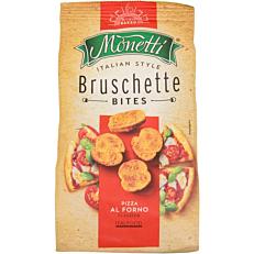 Παξιμαδάκια MONETTI Bruschette τομάτα, ελιά & ρίγανη (70g)