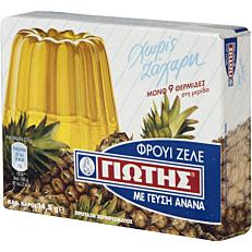 Φρουί ζελέ ΓΙΩΤΗΣ με γεύση ανανά χωρίς ζάχαρη (14,3g)